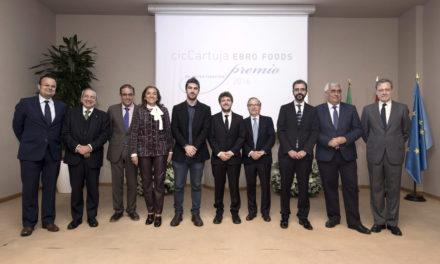 Miguel Anaya Martín, ganador del Premio cicCartuja – Ebro Foods para jóvenes investigadores