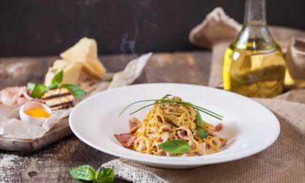 La auténtica receta italiana de espaguetis a la carbonara