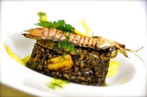 Arroz negro con sepia y cigalas Gastronomix Ebro Foods