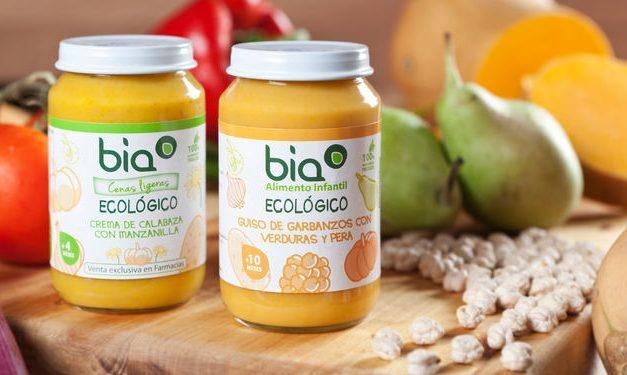 Potitos ecológicos BIA, calidad y sabor para los más pequeños