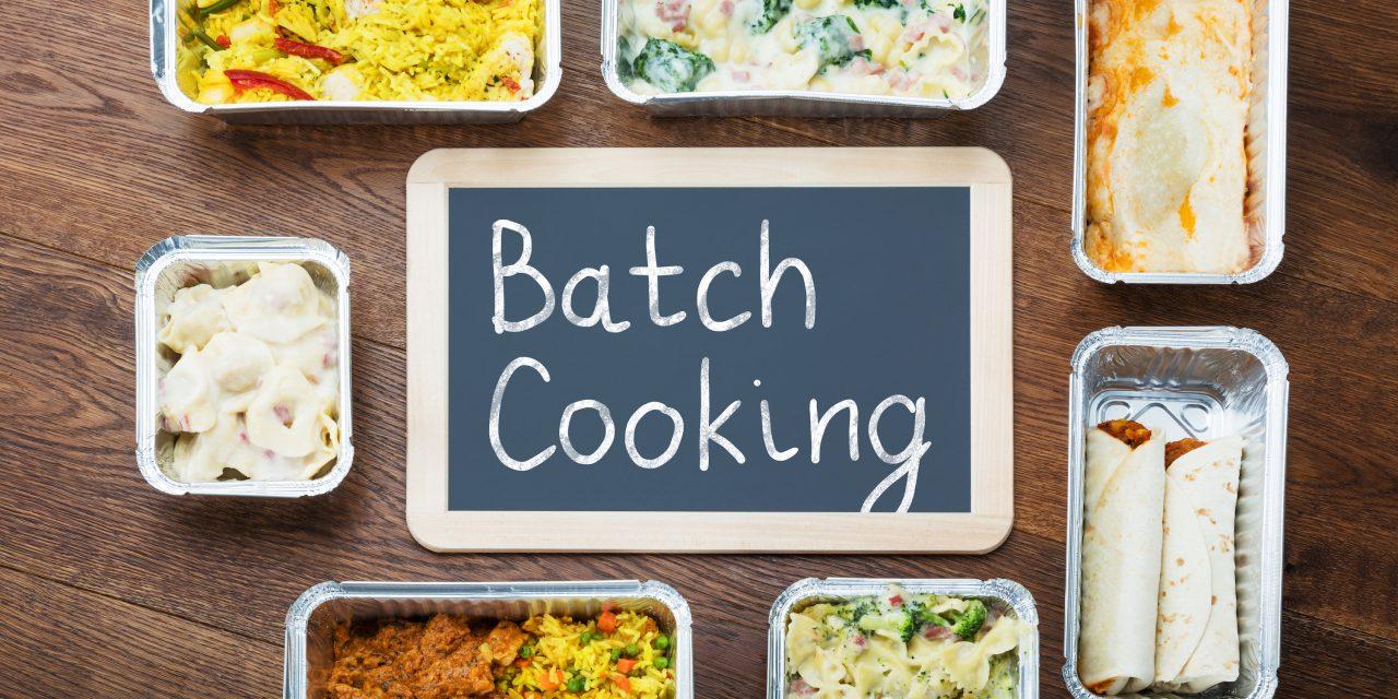 Batch cooking, el método para comer sano ahorrando tiempo