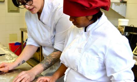 Taller de panadería en Proyecto Gastronomix
