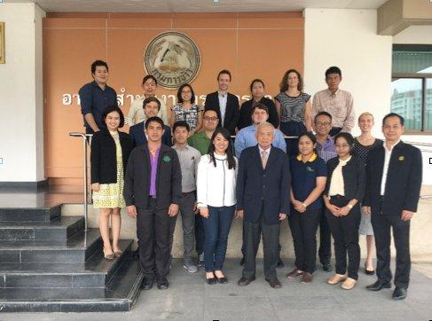 INNOVADOR PROGRAMA DE AGRICULTURA CLIMATE-SMART EN TAILANDIA