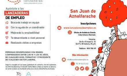 Fundación Ebro impulsa una lanzadera de empleo en San Juan de Aznalfarache