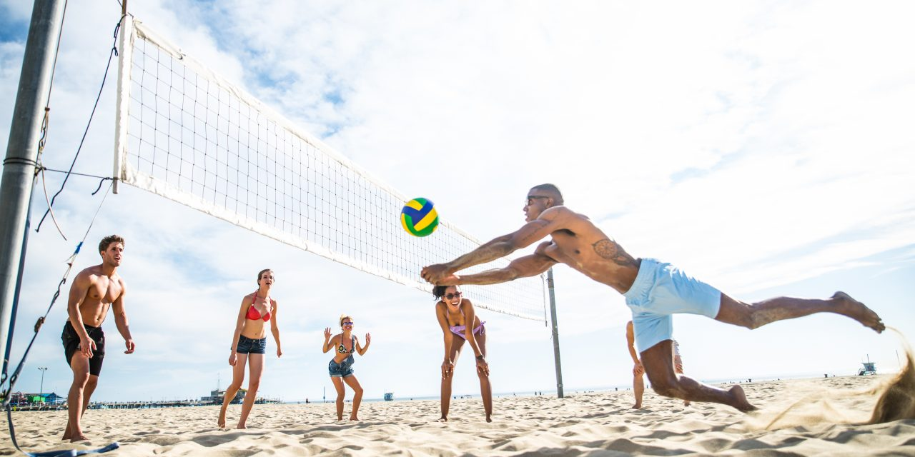 Voley playa, descubre los beneficios de practicarlo