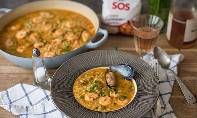 Diferencias entre arroz caldoso, meloso y seco