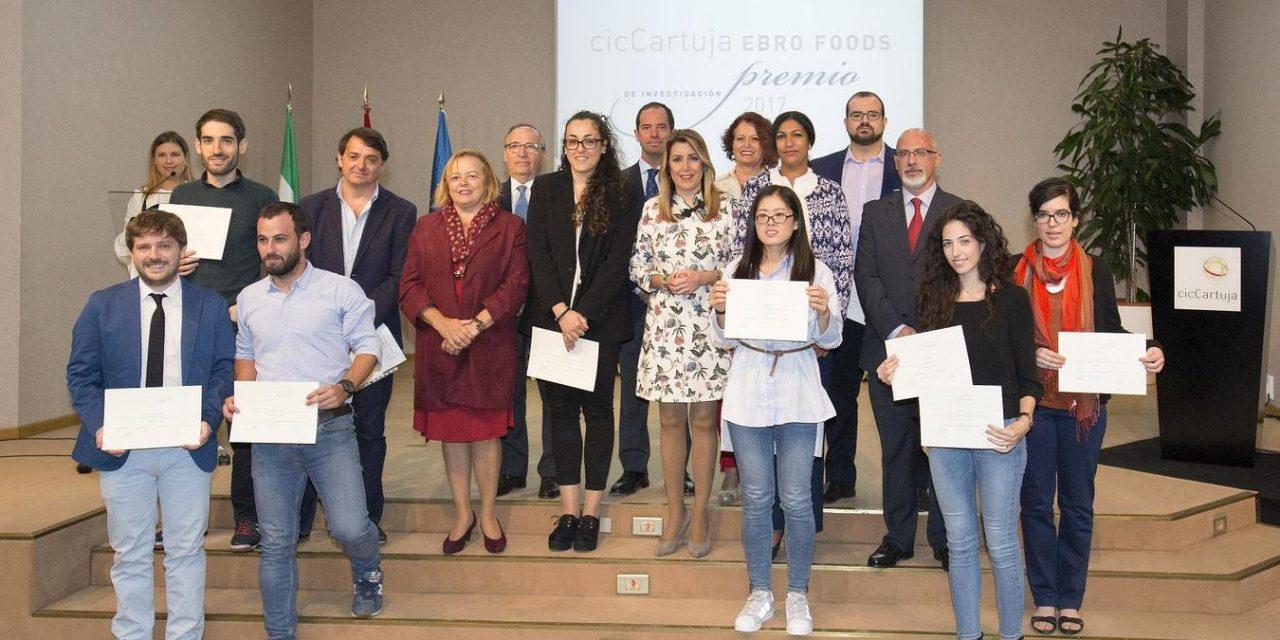 LA 8ª EDICIÓN DE LOS PREMIOS CIC CARTUJA – EBRO FOODS RECONOCE LA EXCELENCIA CIENTÍFICA DE CUATRO JOVENES INVESTIGADORES