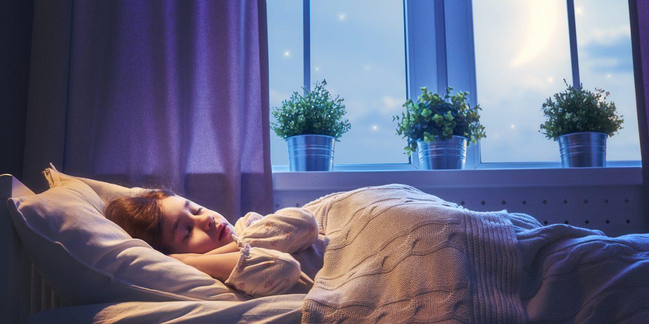 La importancia de un buen descanso para nuestros niños