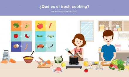 ¿Qué es el trash cooking?
