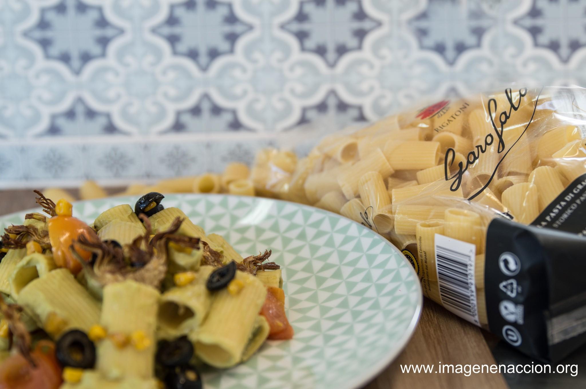 receta Pasta con aguacate_ garofalo