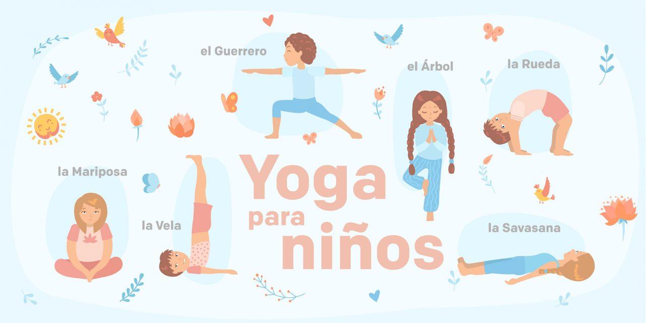 Yoga para niños. ¡Descubre los beneficios de esta práctica milenaria!