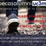 Becas Alumni UC3M. Déjanos ser parte de tu camino