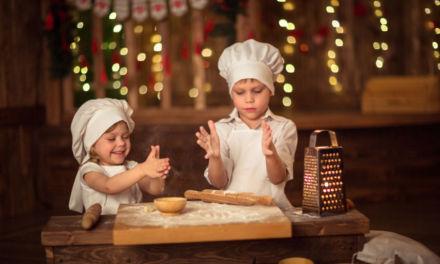 Recetas para cocinar con niños estas Navidades