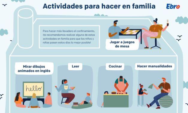Actividades para hacer en familia