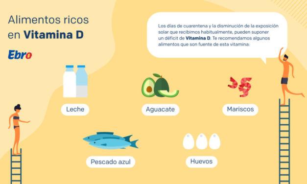 Qué alimentos nos ayudan a suplir la vitamina D