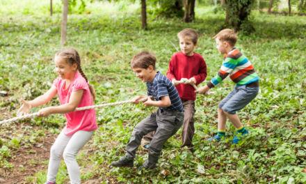 Beneficios de la naturaleza para los niños