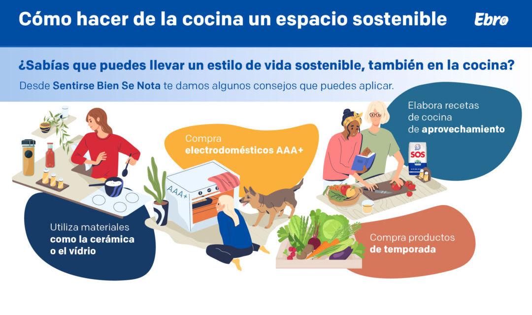 Cómo hacer de la cocina un espacio sostenible