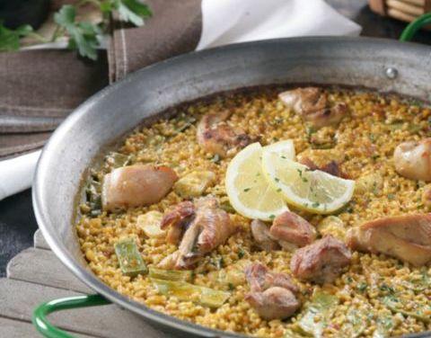 Receta de la auténtica paella valenciana