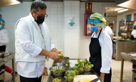 Continúan los aprendizajes en la cocina de Gastronomix