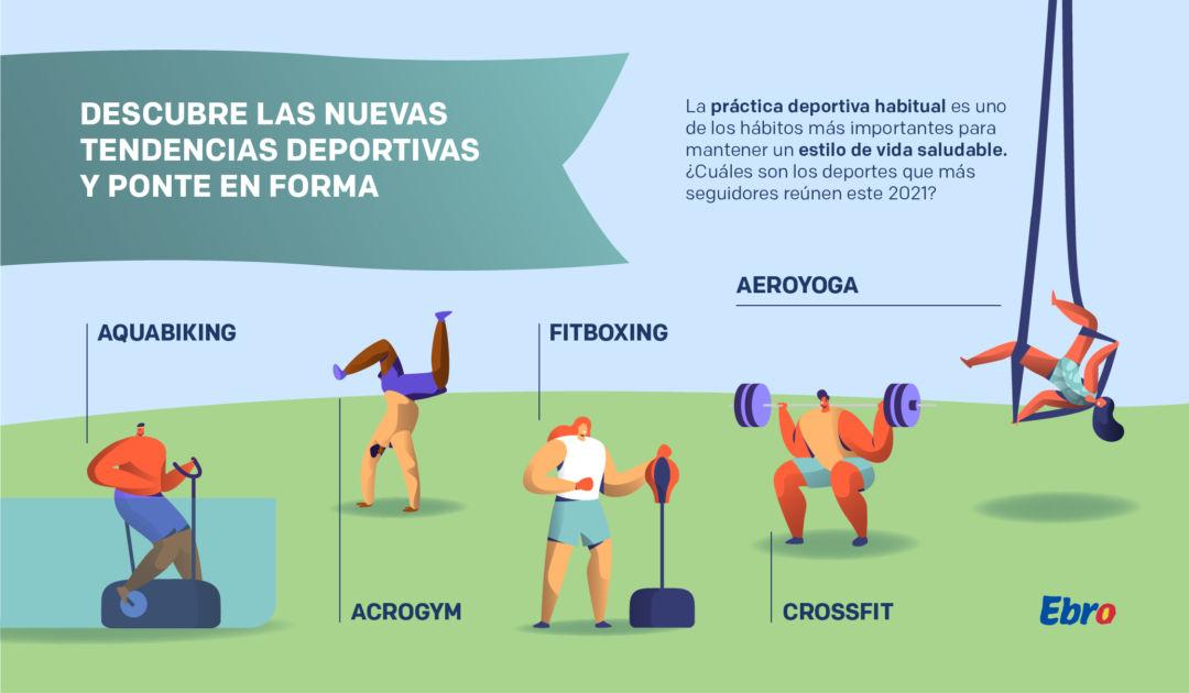 Fitboxing, crossfit, aquabiking…¡Descubre las nuevas tendencias y ponte en forma!