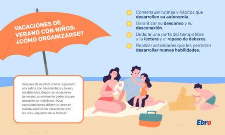 ¿Cómo organizar las vacaciones de verano con niños?