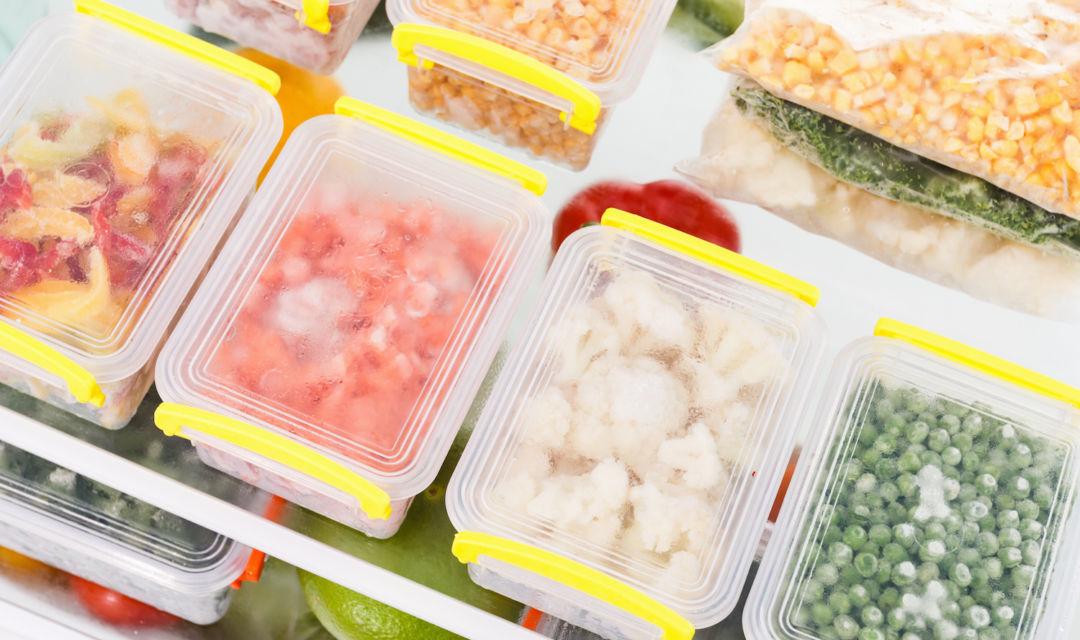 ¡Aprende a congelar los alimentos y evita el desperdicio!