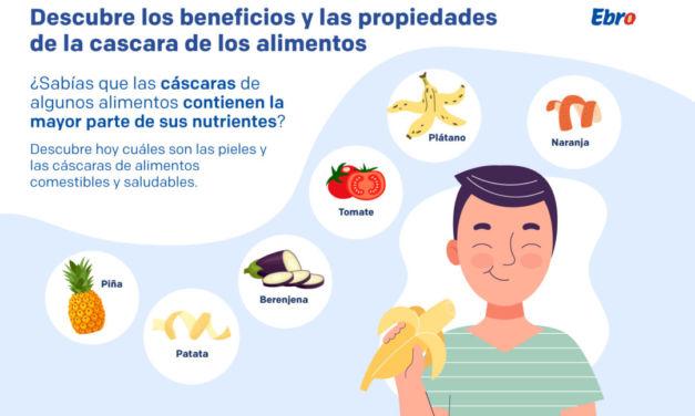 Descubre los beneficios y propiedades de la cáscara de los alimentos