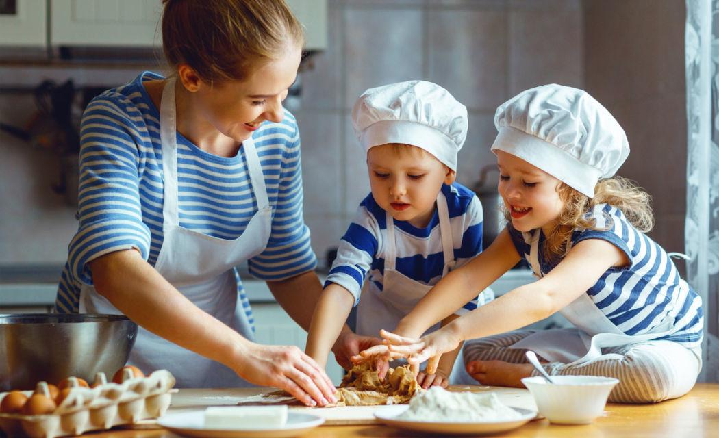 ¡Despierta la creatividad de los niños en la cocina!
