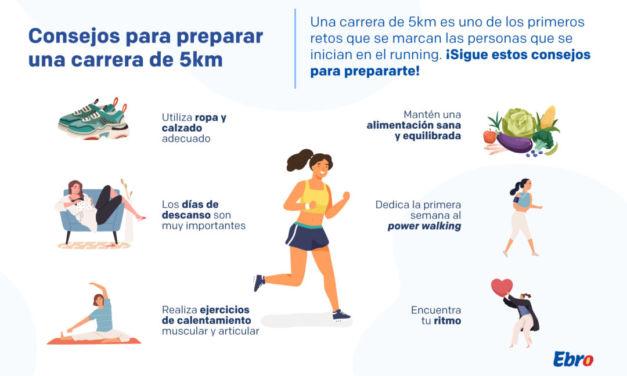 Consejos para preparar una carrera de 5km