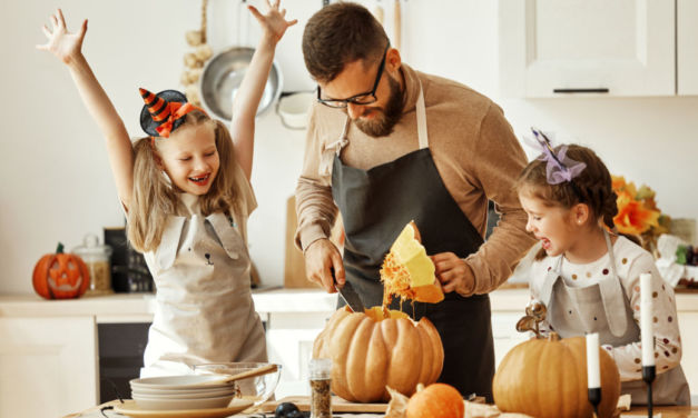 Celebra Halloween en familia